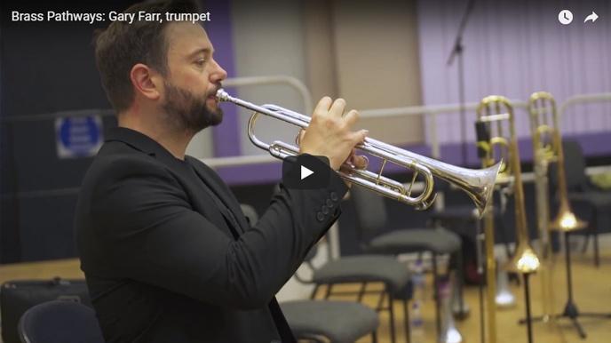 Brass Pathways Video: Gary Farr, trumpet