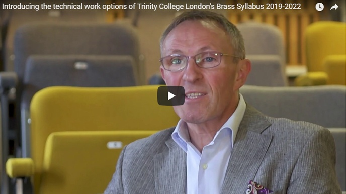 Introducing our Brass Syllabus 2019-2022 technical work options