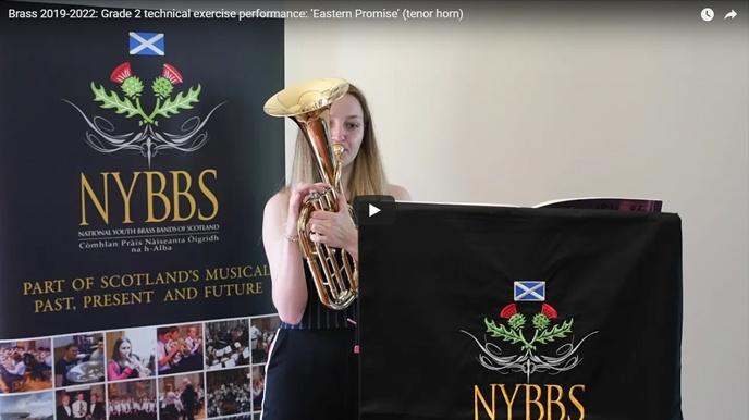 Grade 2 technical exercise performance: 'Eastern Promise' (tenor horn)