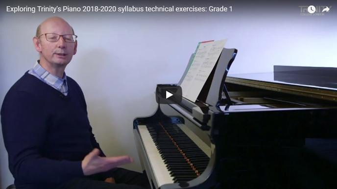 Exploring piano technical exercises: Grade 1