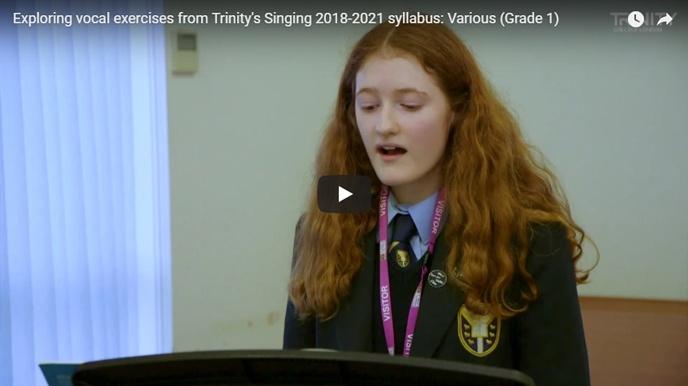Teaching vocal exercises: various, Grade 1