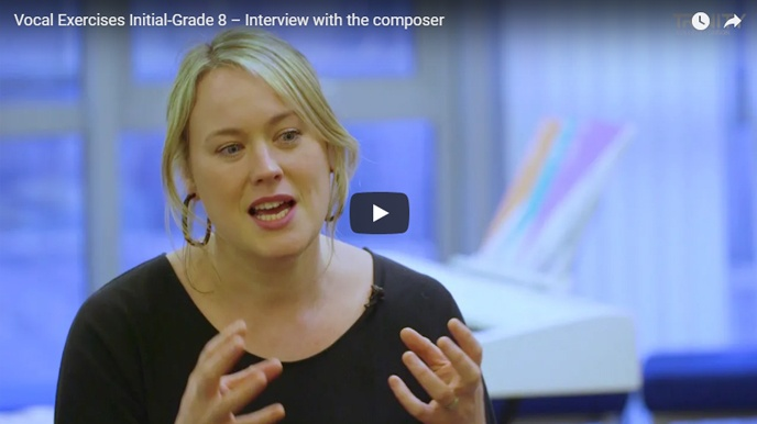 Vocal Exercises Initial - Grade 8: Interview with the composer