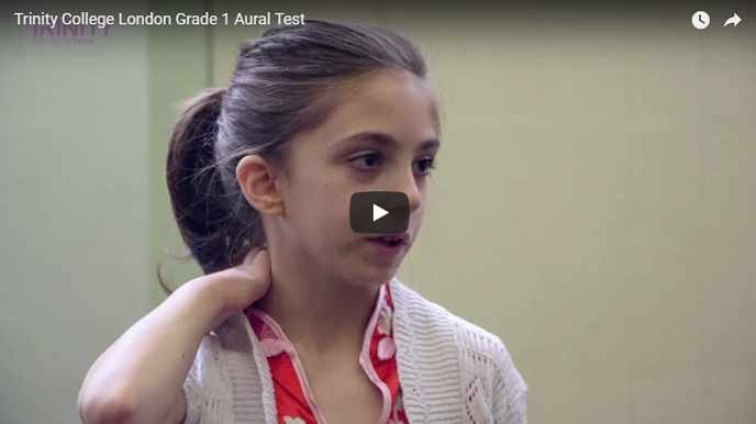 Example Grade 1 aural test