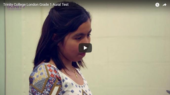 Example Grade 1 aural test