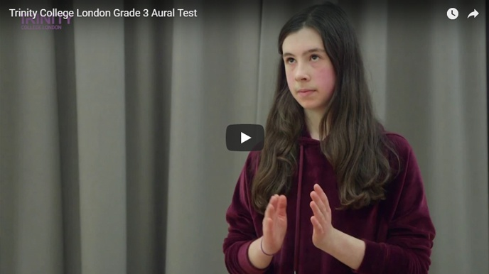 Example Grade 3 aural test