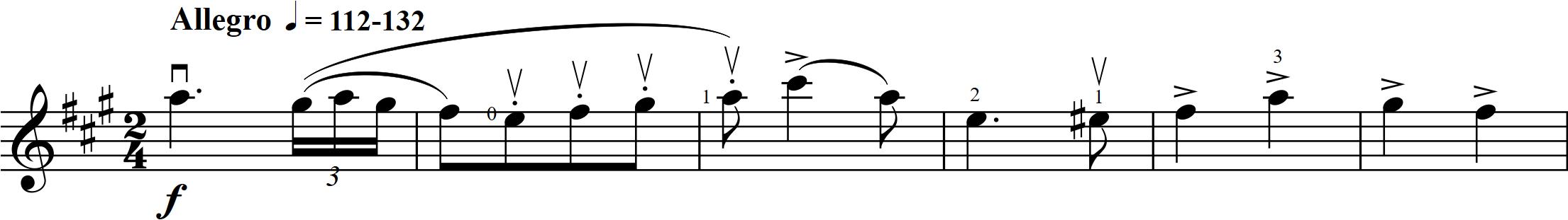 G6 Nölck - Hungarian Dance - 1-6 vln