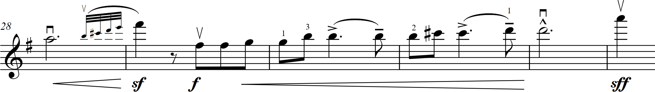 G7 Coleridge-Taylor - Valse Mauresque - 28-33 vln