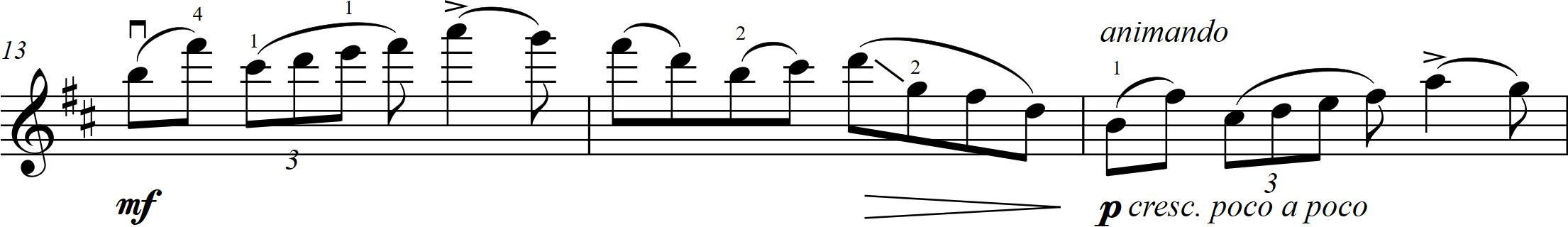 G7 Glazunov - Méditation - 13-15 vln