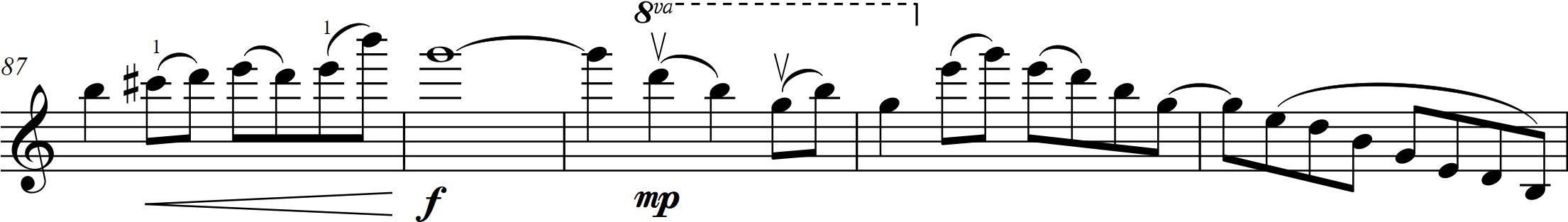 G8 Alwyn - Allegro e grazioso - 87-91 vln