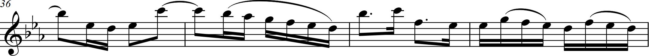 G8 Bach - Allegro (unmarked) - 36-39 vln