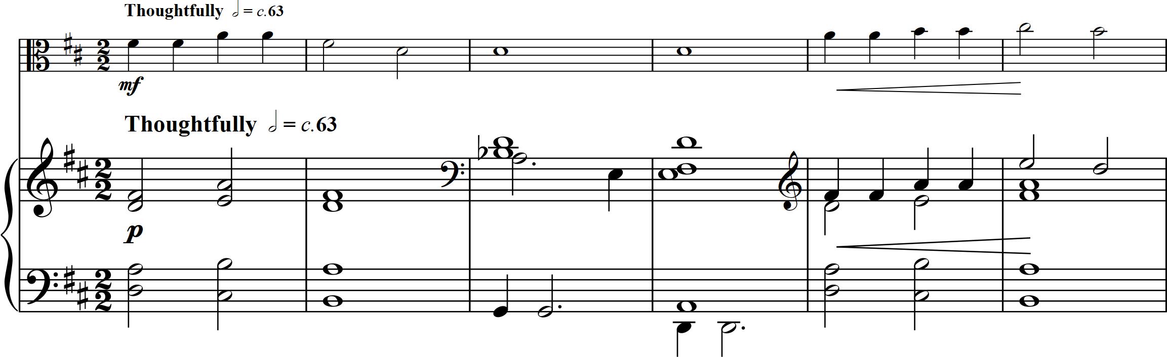 15. Sad Smile - Viola, Piano
