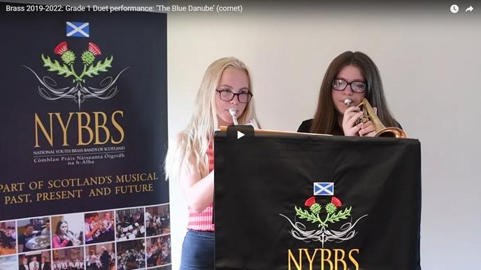 NYBBS - Grade 1 duet - The Blue Danube