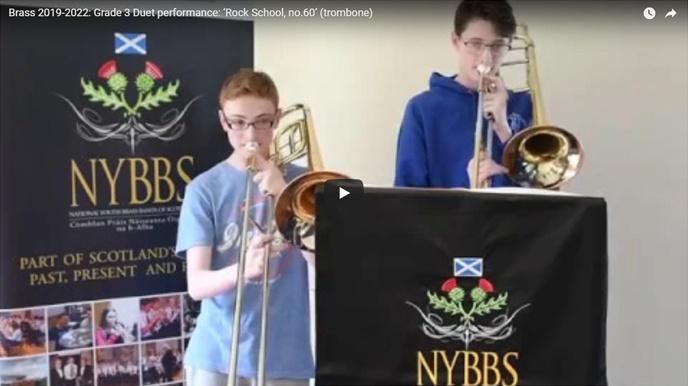 NYBBS - Grade 3 duet - Rock School