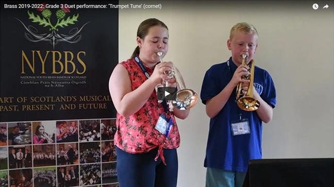 NYBBS - Grade 3 duet - Trumpet Tune