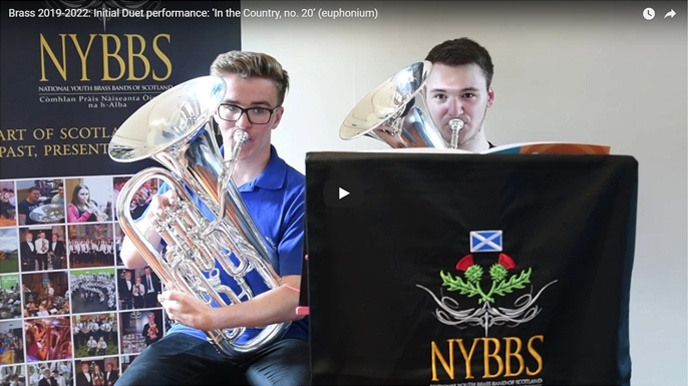 NYBBS - Initial duet - In the Country, no.20