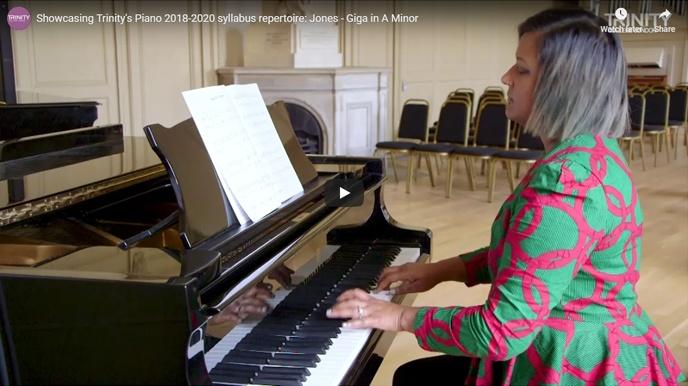Piano 2018-2020 piece showcase - Jones - Giga in A Minor