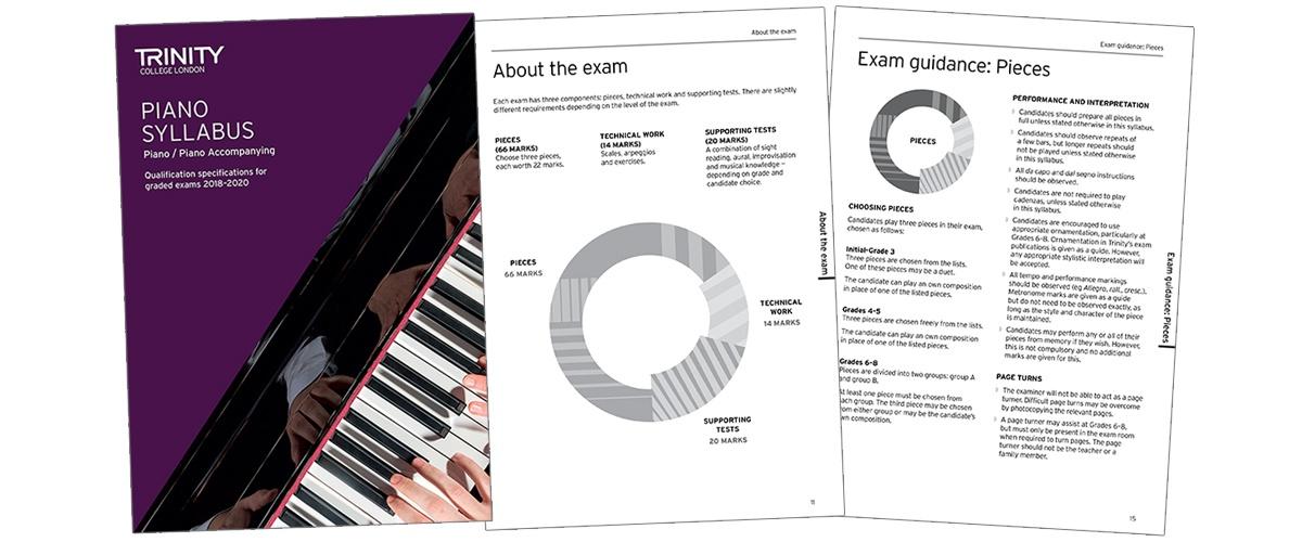 Trinity piano syllabus 2