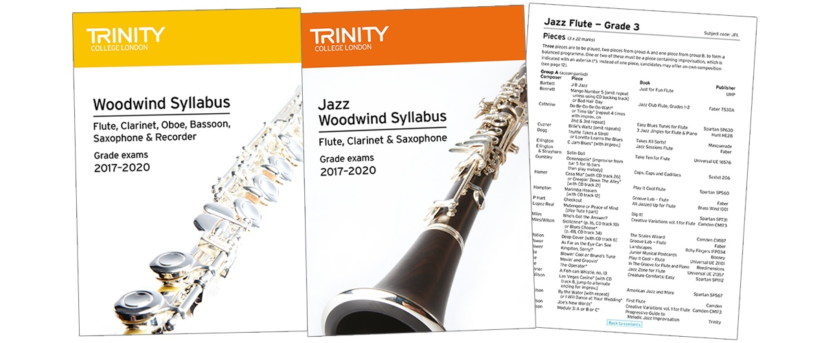 Trinity woodwind and jazz woodwind syllabus 2